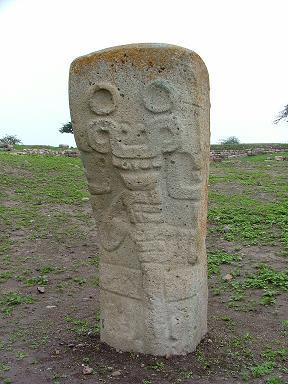 Chavinoid Stela