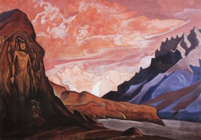 Sign of Maitreya by Roerich