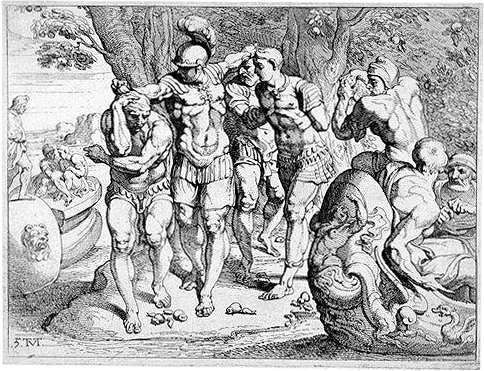 Lotus-eaters engraving
