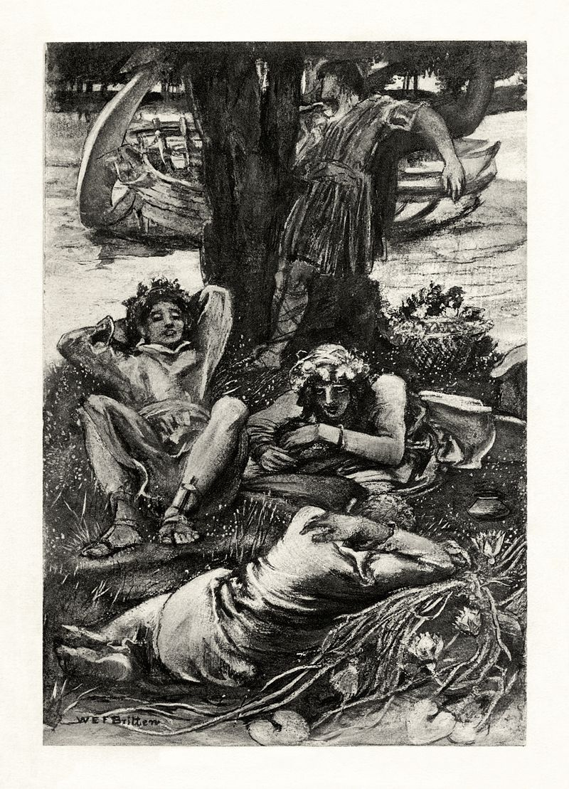 tennyson illustration